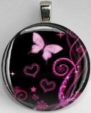 Handmade Interchangeable Magnetic Butterfly #11 Pendant Necklace