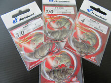 HAYABUSA W951 Offset Hooks various sizes LRF/HRF  perch pike Made in Japan!