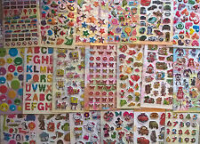 Children's craft stickers- lots of choice, for parties, rewards, fun
