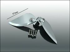 R/C Boat CNC Aluminum Mount/Stainless Steel Turn Fin Set.