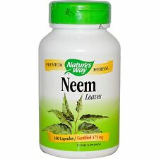 Neem Pills Non GMO Plant Extract Tree Leaf Powder Oil Leaves Supplement Capsules