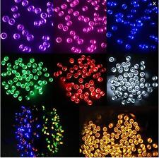 NEW LED String Solar Powered Fairy Lights Garden Party Christmas Outdoor