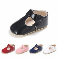 Toddler Baby Girls Boys Casual Soft PU Shoes Infant Anti-slip Prewalker Sandals