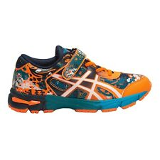 Asics Gel Noosa Tri-11 JUNIOR BOY'S RUNNING SHOES, ORANGE/NAVY/WHITE - US 1 Or 2