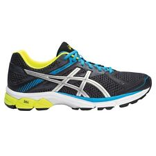 Asics Gel-Innovate-7 MEN'S RUNNING SHOES,BLACK/BLUE/YELLOW-Size US 11.5,12 Or 13
