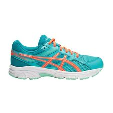 Asics Gel Contend-3 GIRL'S RUNNING SHOES, BLUE/ORANGE - Size US 1, 5, 6 Or 7