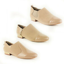 WOMENS LADIES LOAFERS FLAT CASUAL SCHOOL OFFICE SHOES PUMPS MOCCASINS SIZE 3-8