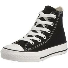 Converse Chuck Taylor All Star Junior Black Textile Trainers