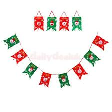 Christmas Santa Claus Style Garden Flag Yard Hanging Flags Party Decoration