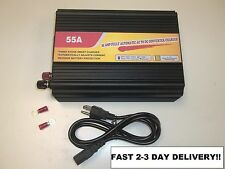 NEW 55 Amp RV Camper Power Converter  REPLACES powermax PM3-55 wfco 9855 PD9260
