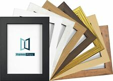 Photo Frame Picture Poster Frame Wide Profile 8 Color Multiple size Large Square