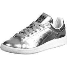 Adidas Originals Stan Smith Boost Silver Metallic Synthetic Trainers