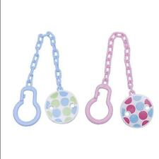 Infant Chain Clip Soother Toddler Toy Dummy Pacifier Boy Holder New Girl Baby