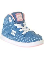 DC Blue-White Print Rebound - Special Edition Toddlers Shoe