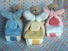Teddy Riding Mini Motorbike Nappy Cake - Baby Shower / New Born / Mum-to-be Gift