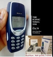 UNLOCKED NOKIA 3310 MOBILE PHONE  REFURBISHED MINT 12 MONTH WARRANTY FAST CLASS