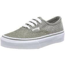 Vans Authentic Glitter Junior Gray Textile Trainers