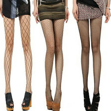 Sexy Black Lady Women Lace Fishnet Stockings Pantyhose Thigh High Hold-ups New