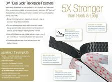 3M Dual Lock SJ3551 - Reusable Fastener - Ultra Strong - Suitable for outdoors