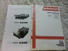 Yanmar CARRIER  C25R, C25W, YFW25R, YFW20DW,   parts manual