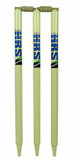 Practice Full Size Wooden Cricket Wickets Stumps With Bails- Half Set & Full set