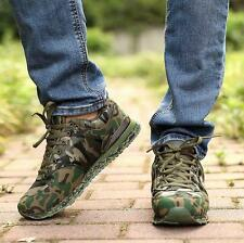 Mens Mesh Breathable Camouflage Sneakers Trainer Casual Shoes Outdoor Running