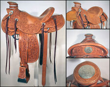 big horn saddle with full tack set Saddle on western hot seat leather