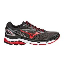 Mizuno Wave Inspire-13 MEN'S RUNNING SHOES, GREY/RED-Size US 9.5, 10, 10.5 Or 11