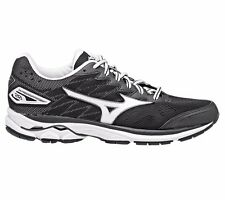 Mizuno Wave Rider-20 WOMEN'S RUNNING SHOES, BLACK/WHITE - Size US 9.5, 10 Or 11