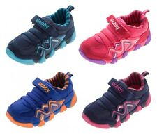 Children Half Shoes Suede Boys Girls Trainers multicolour trainers Size 23 - 28