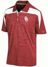"Oklahoma Sooners NCAA Champion ""Booster"" Men's Performance Polo Shirt"