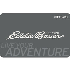 Eddie Bauer Gift Card - $25 $50 or $100 - Fast Email delivery