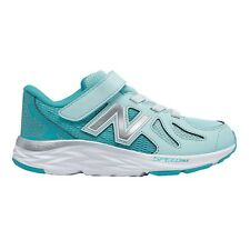 New Balance 790v6 JUNIOR GIRL'S RUNNING SHOES, BLUE/GREEN - Size US 11, 12 Or 13