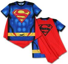 Superman- Sublimated Cape Tee T-Shirt Blue New Shirt Tee