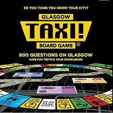 Glasgow Taxi! Tabletop Board Game New Edition 600 Questions on Glasgow 2016