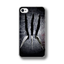 WOLVERINE CLAWS METAL X-MEN Hard Phone Case Cover FITS IPHONE 4 5 6 7