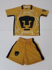 Pumas UNAM Home Youth soccer Outfit 2 Pieces Set, Made in Mexico