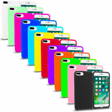 For Apple iPhone 7 / 7 Plus Rubber Silicone Flexible Soft Jelly Skin Case Cover