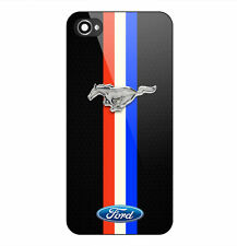 Best New Ford Mustang Logo Print Hard Plastic Case For iPhone 7 5s 6s & 7 Plus