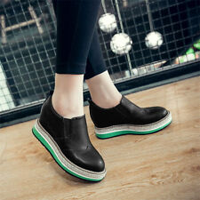 Womens Shoes Platform Wedges Ankle Boots High Heels Brogue Oxfords Creepers Punk
