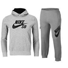 NIKE JUNIOR BOYS /GIRLS FULL HOODED TRACKSUIT GREY AGE 3 TO 7 YEARS
