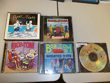 Bob & Tom CD lot gimme an F, back in 98, greatest hits, you guys rock