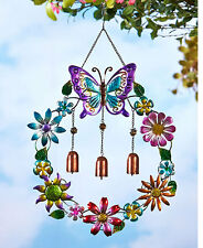 Metal Wind Chime New Outdoor Hanging Chimes Decor Garden Yard Bells Colorful