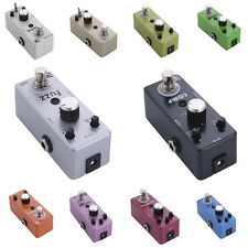 Multi-models Effect Pedal Tone Distortion Modification For Electric Guitar
