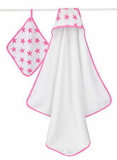NEW Aden + Anais Hooded Towel and Washcloth Set - Various Prints
