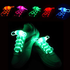 Cool Waterproof LED Light Up Shoelaces Shoestring-3 Modes (On,Strobe & Flashing)