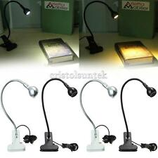 Flexible USB Reading Lamp LED Book Light Table PC Laptop Beside Bed Clip-on Lamp