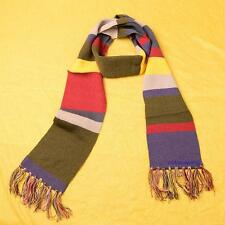200cm*15cm Dr. Doctor Who 4th Fourth Doctor Tom Baker Striped Scarf