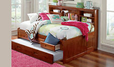 Discovery World Furniture Merlot Full Size Bookcase Day Bed