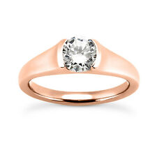 1.5 Carat Moissanite Solitaire Engagemnt Ring. Charles and Colvard certified